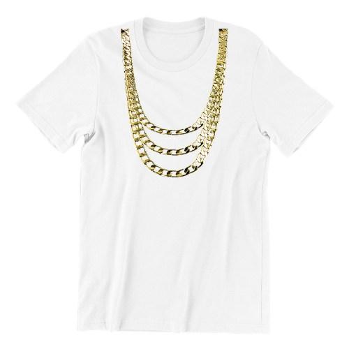 Wear Gold-white-short-sleeve-womens-funny-singapore-teeshrt