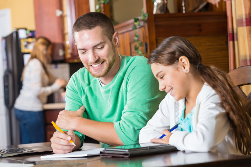 Private in-home tutors