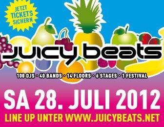 Juicy Beats Festival: saftiges Line Up für jeden Geschmack (28. Juli 2012 im Dortmunder Westfalenpark)