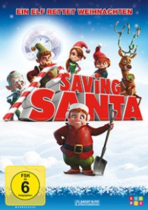 Cover -Saving Santa
