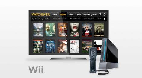 Watchever jetzt auch für die ganze Familie auf der Wii