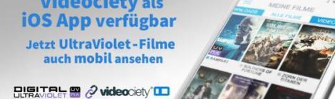 videociety weitet sein Angebot auf mobile Endgeräte aus...