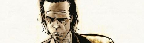 "Reinhard Kleist: ""Nick Cave - Mercy on me"" & ""Nick Cave And The Bad Seeds""  (Carlsen Verlag)"