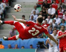 UEFA Euro2016. Polonia ai quarti, un gioiello di Shakiri non basta alla Svizzera