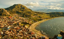 Copacabana Bolivia viewpoint