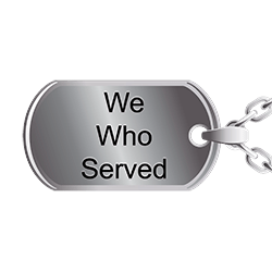 We Who Served Logo