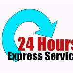 24 hour express service