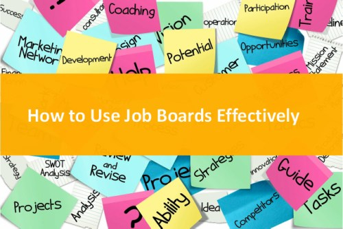 Using Job Boards and Job sites