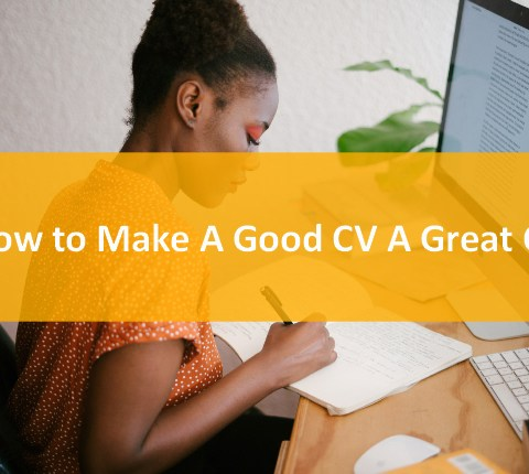Good CV or Great CV