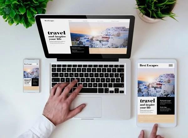 Responsive web design company in Guildford