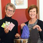 Liz Hunter and Helen Lee