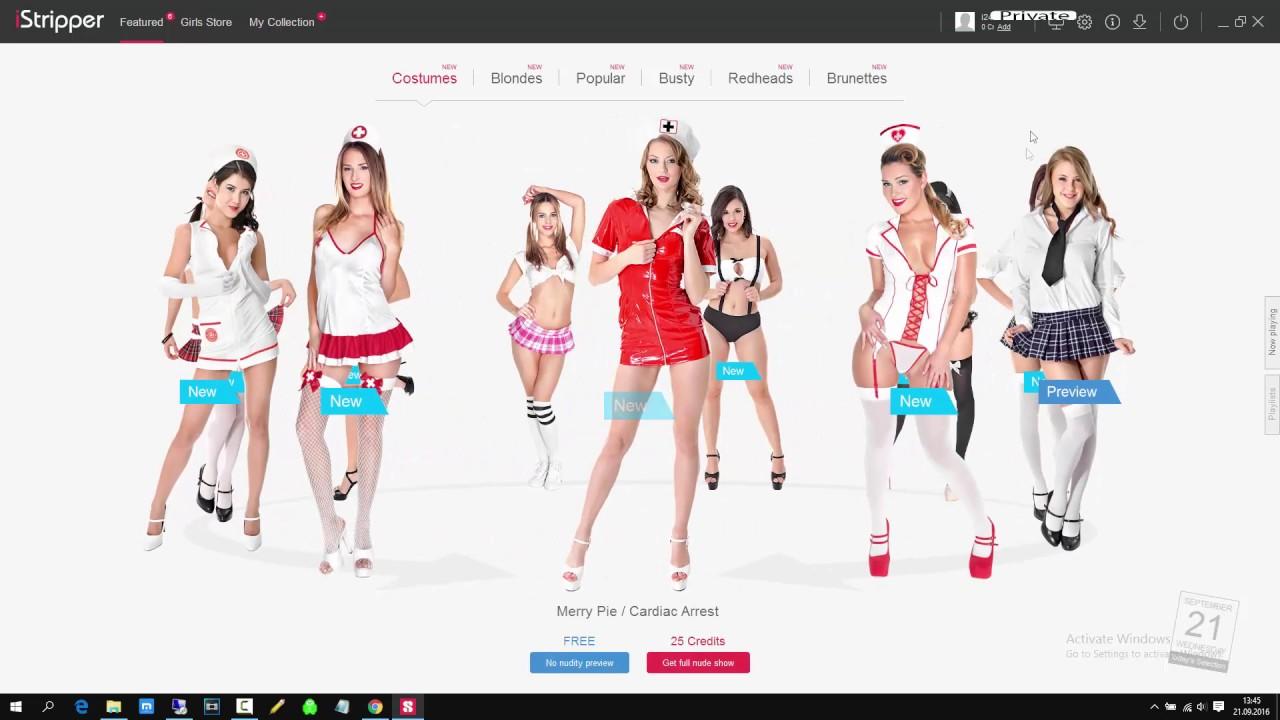 Download iStripper crack free credits unlock all models