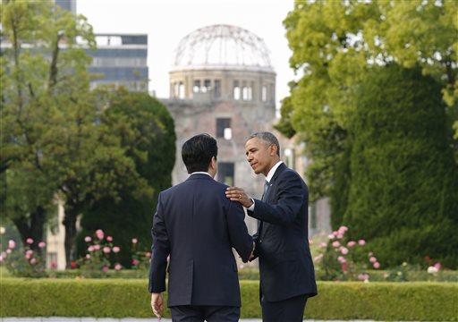 Barack Obama, Shinzo Abe_152341