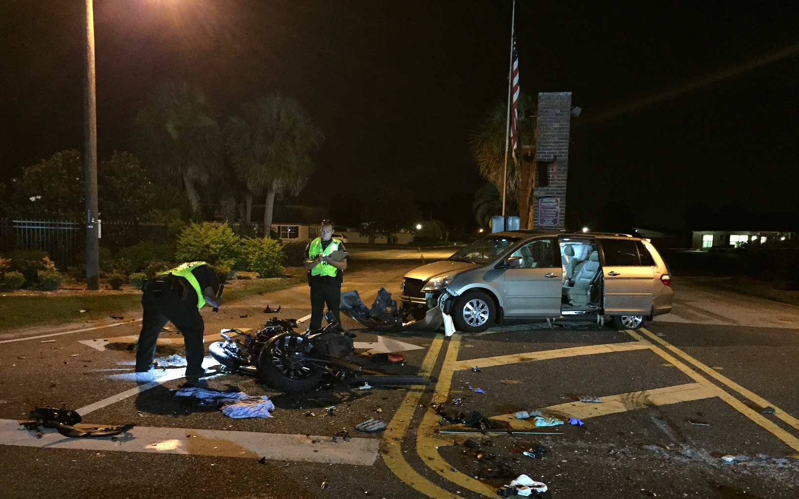 Motorcyclist killed, 4 hospitalized after Haines City crash