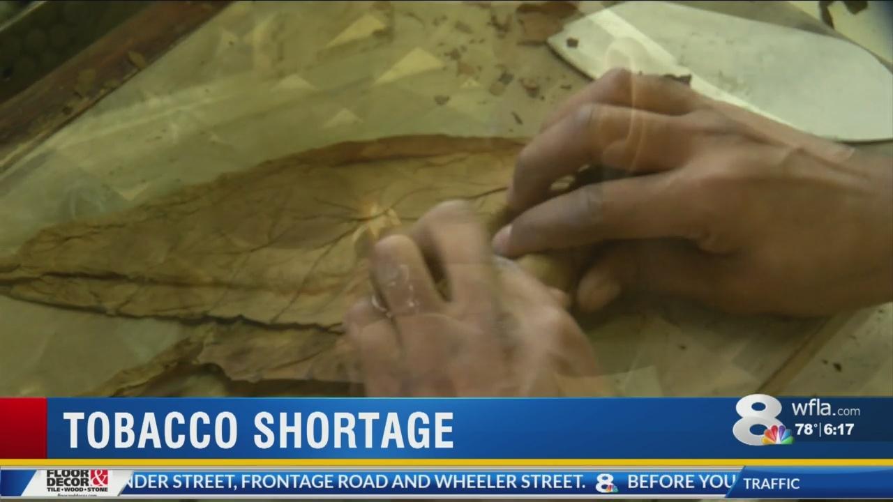 tobacco shortage