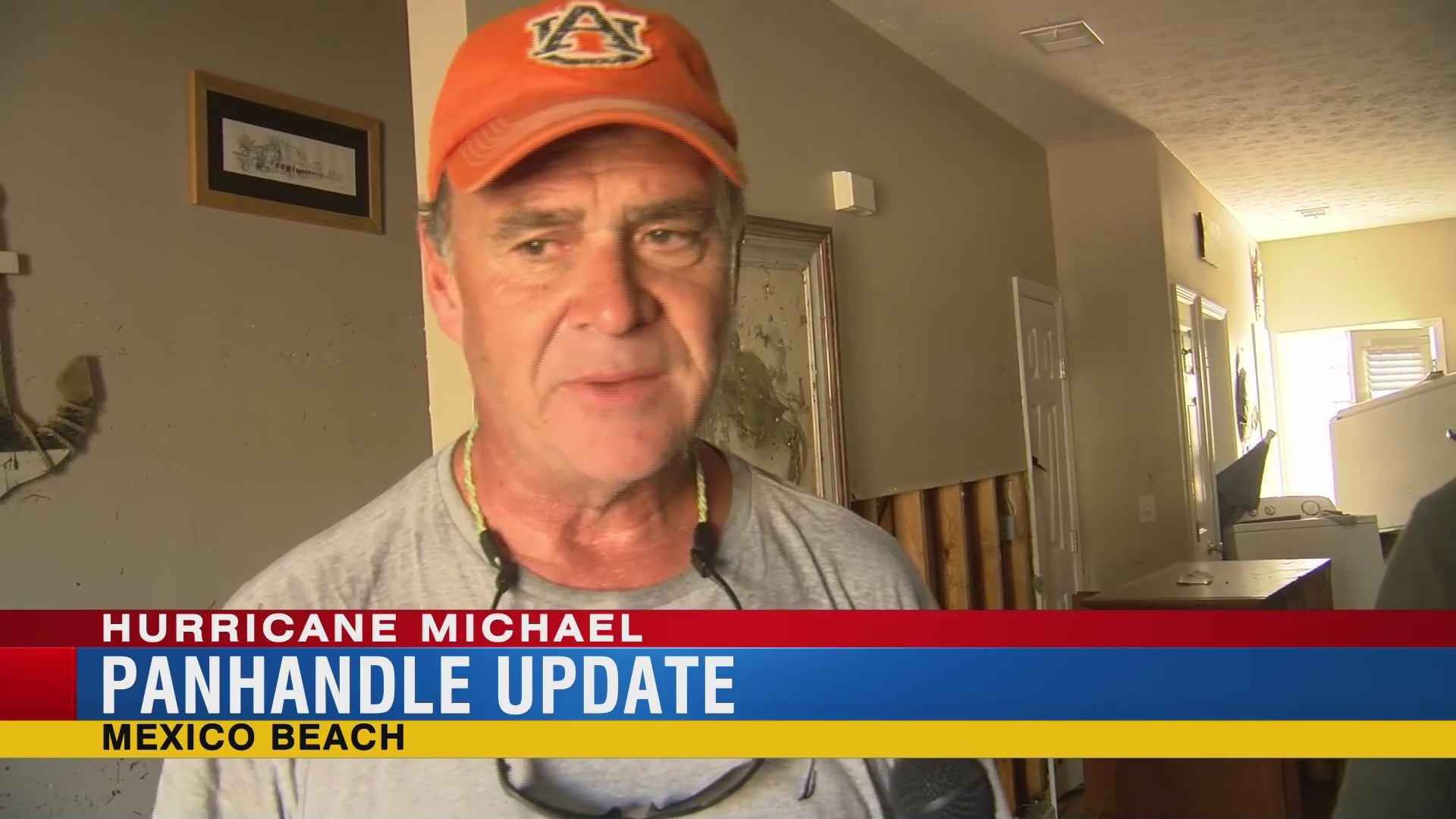 Alabama man in Mexico Beach talks about trying to get in touch with his family after Hurricane Michael