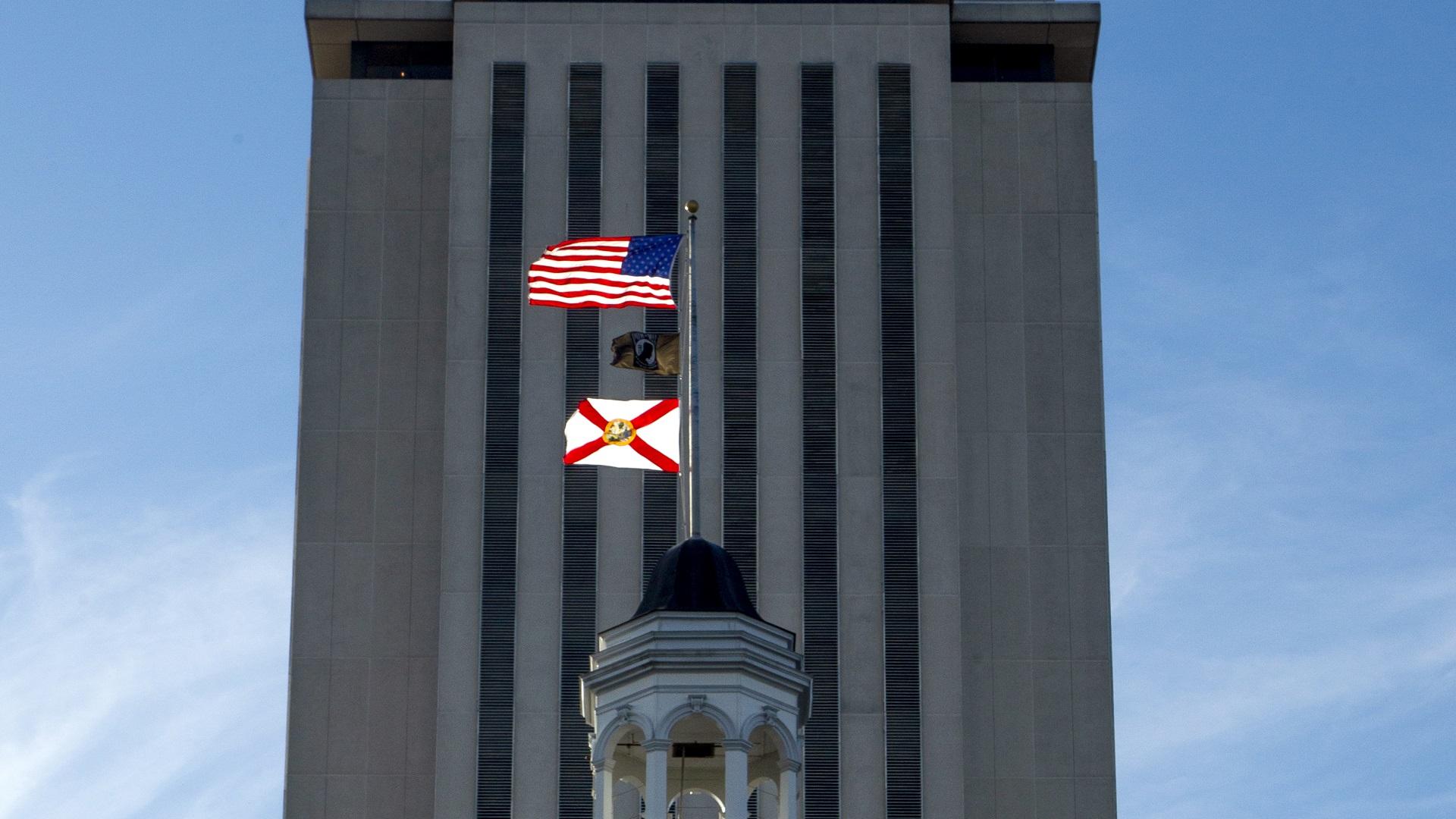 FLORIDA CAPITOL FLORIDA FLAG