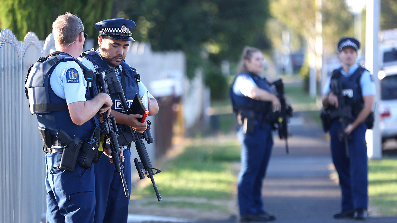 New Zealand Police Christchurch attacks