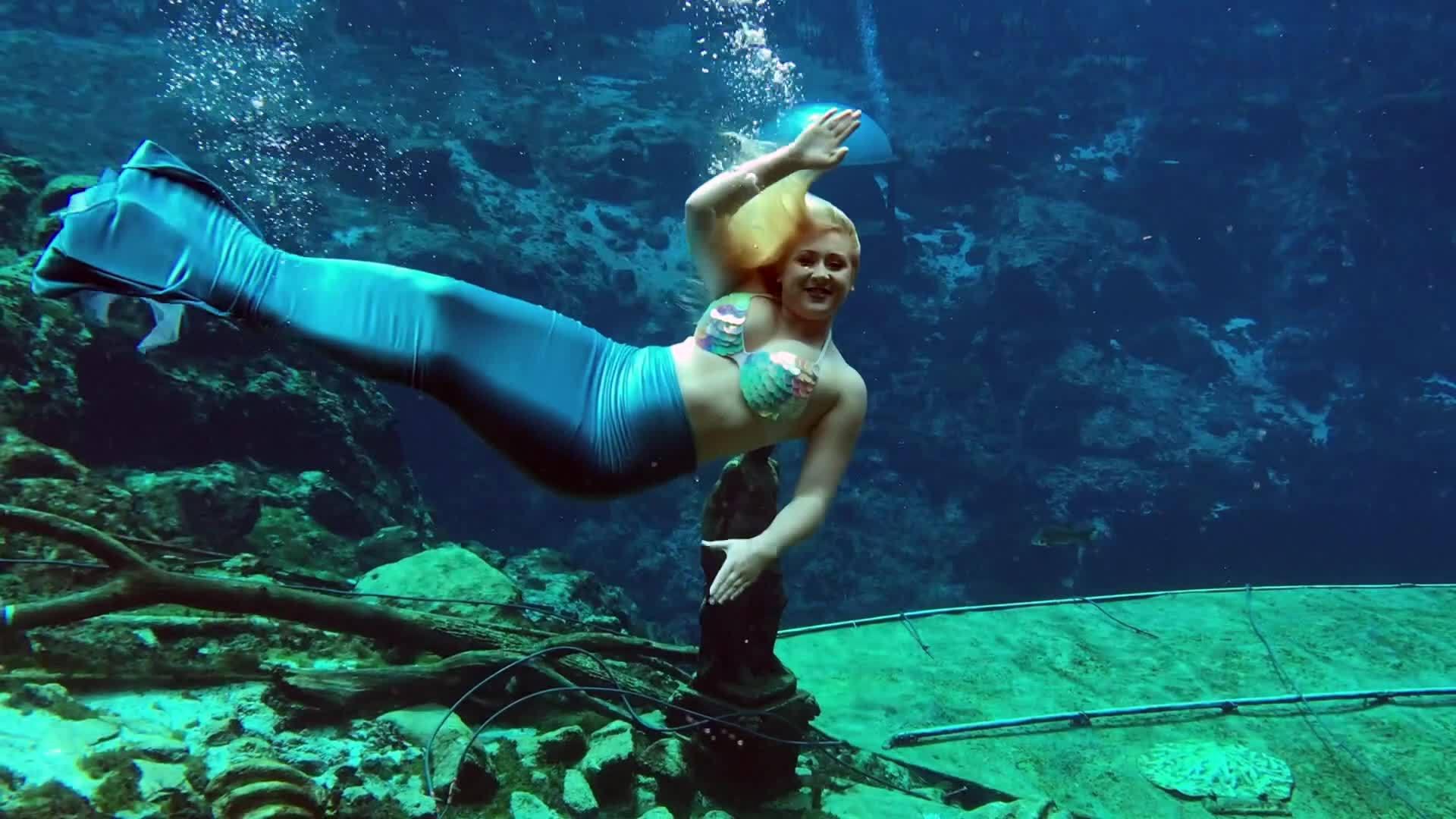 Weeki Wachee Springs Mermaids in Charleston! - YouTube |Meet Weeki Wachee Mermaids