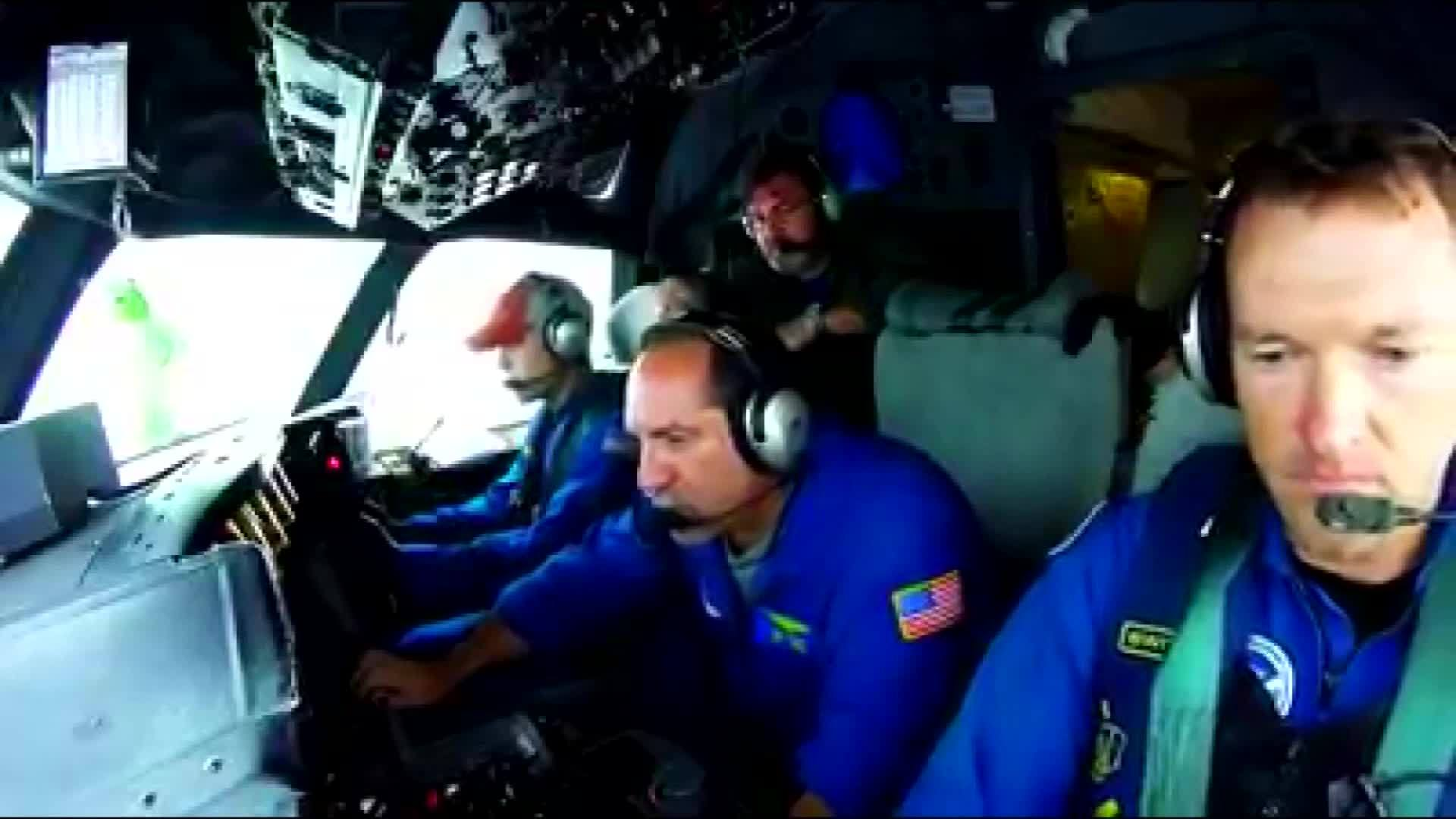 Hurricane Hunters on a mission