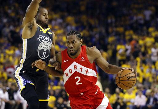 NBA Finals Raptors Warriors Basketball_1560484646472