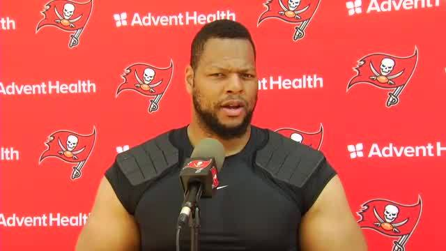 Suh forgetting the past struggles of the Buccaneers