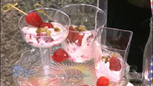 No Bake Desserts with The Dessert Diva