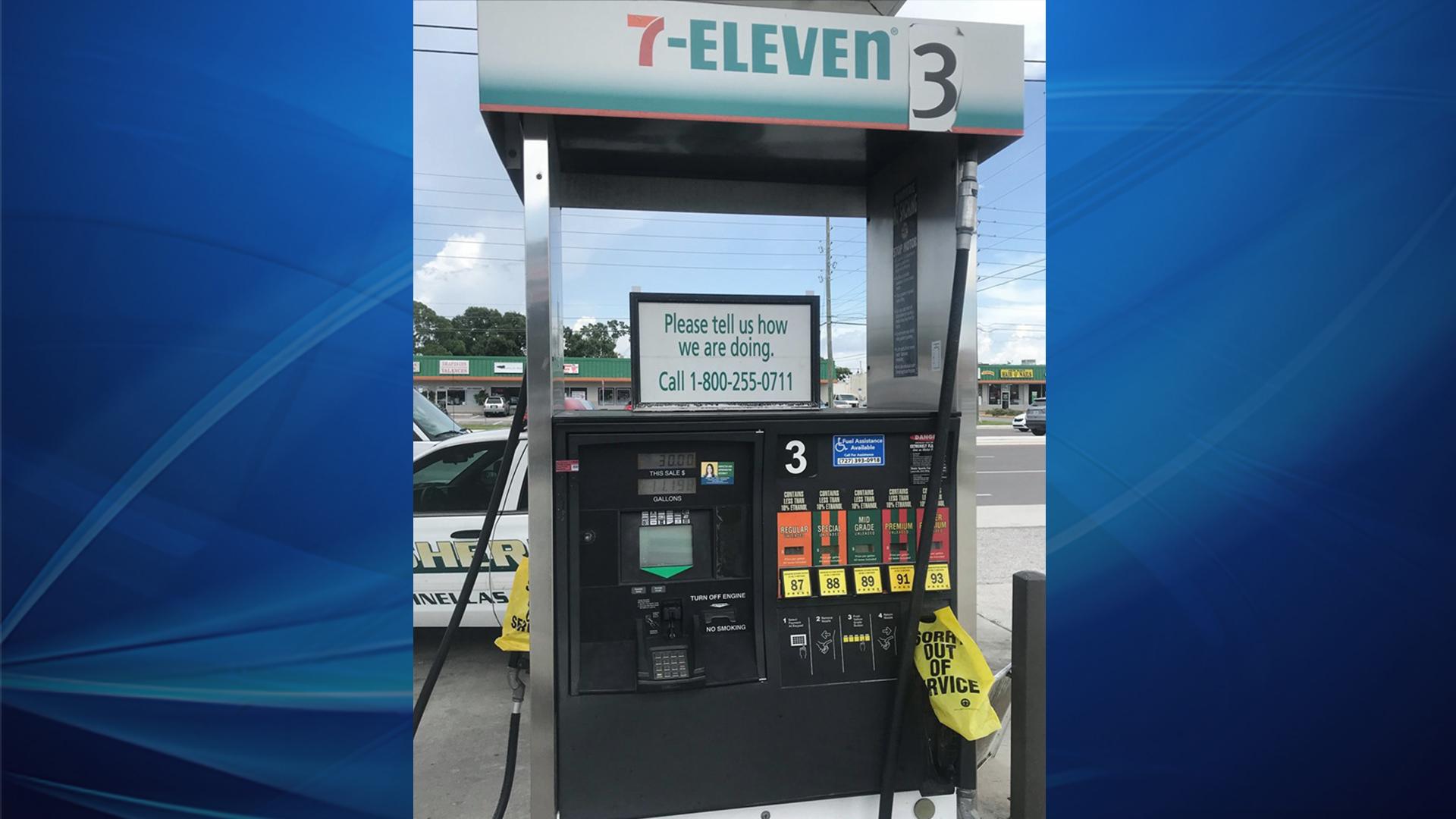 Deputies warn of Bluetooth skimmers found at 7-Eleven in