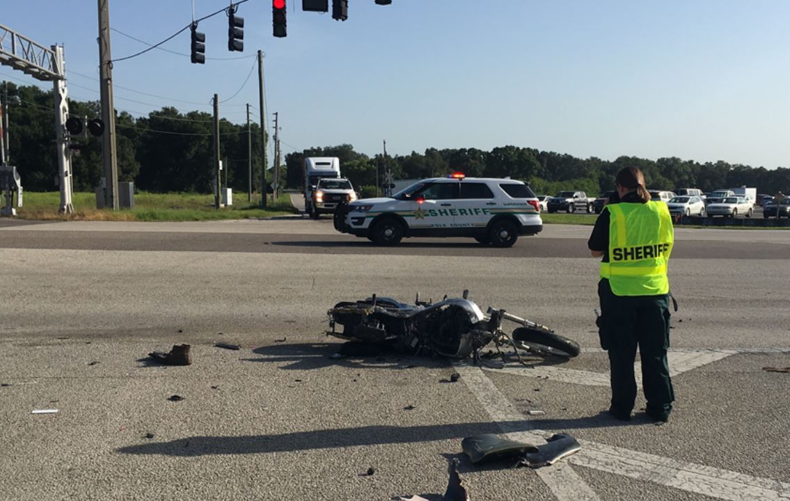 Deputies investigate fatal motorcycle crash in Lakeland | WFLA
