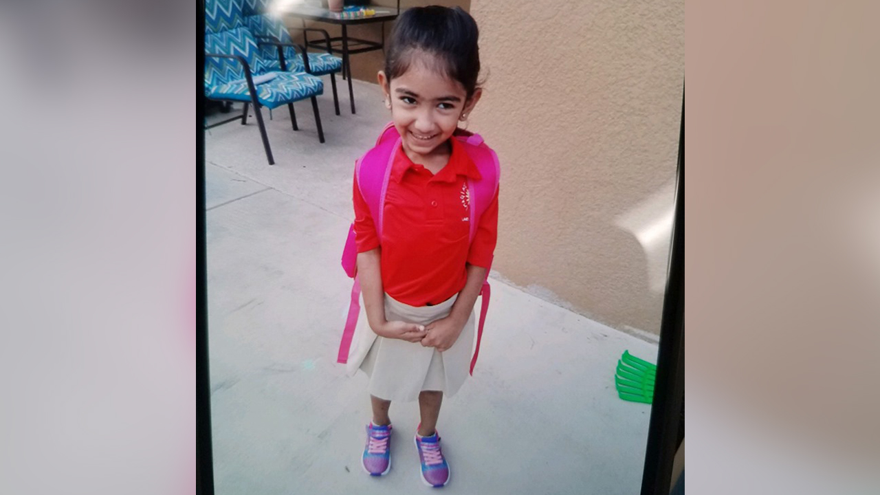 Missing 5-year-old Pasco County girl found safe   WFLA