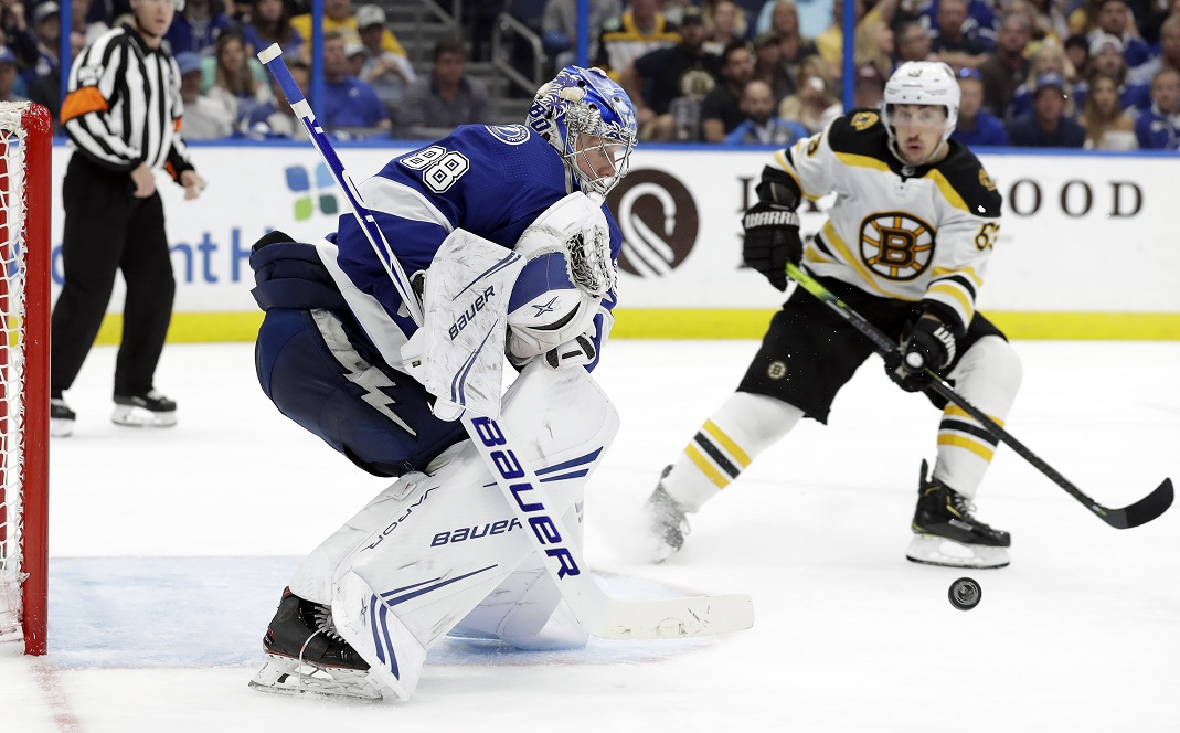 Marchand and the Bruins visit the Lightning   WFLA