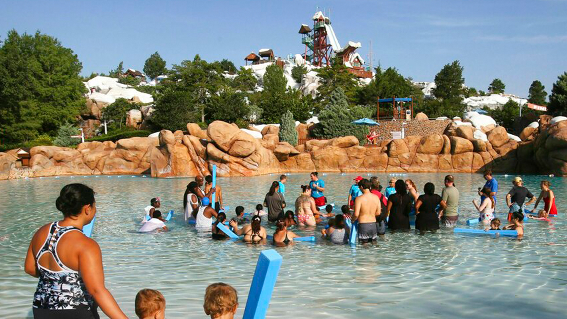 blizzard beach is located on the walt disney world property (between hollywood studios and animal kingdom) and is open pretty much year round, although it will close for the occasional orlando day when it's too cold to go swimming. Disney To Reopen Blizzard Beach Or Typhoon Lagoon In March 2021 Wfla