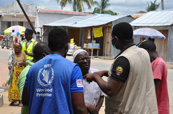 Humanitarian partners on the ground in Palma