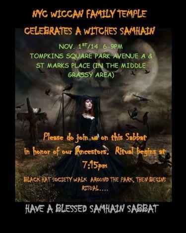 Samhain Nov 1-2014