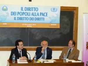 ANTONIO STANGO- Segretario Generale del Comitato Italiano Helsinki; CARLO ZONATO - Presidente UPF Italia