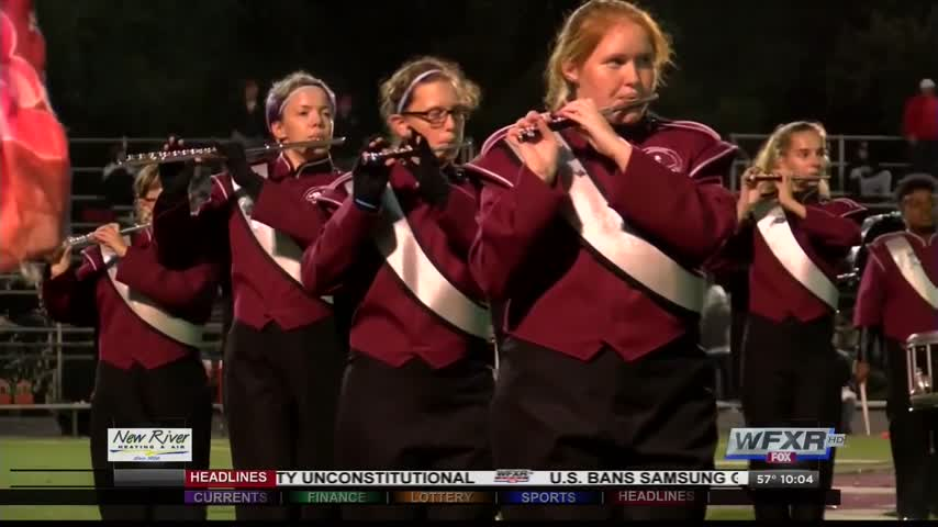 Amherst Co- HS honors two families at football game_03074217-159532