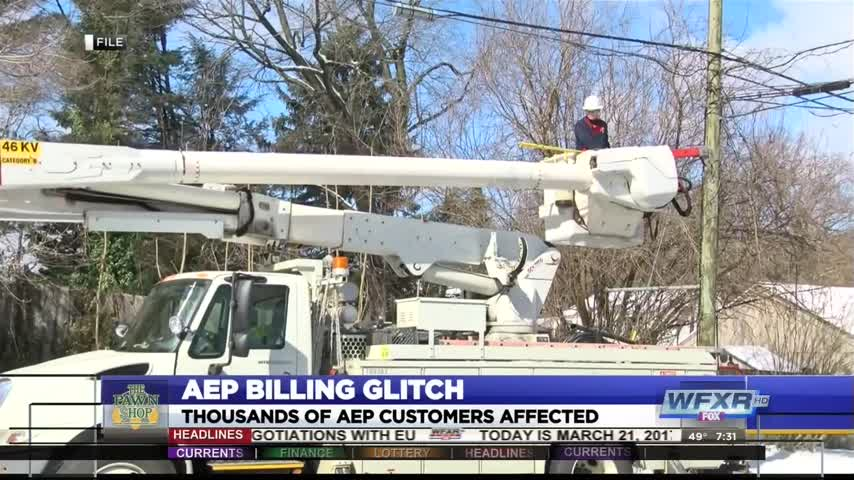 Thousands affected by AEP billing glitch_15357547