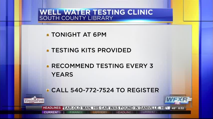 Testing to make sure your drinking water is clean_19802281