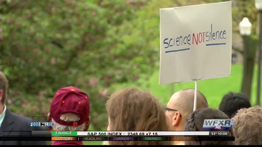 March for Science held at Virginia Tech