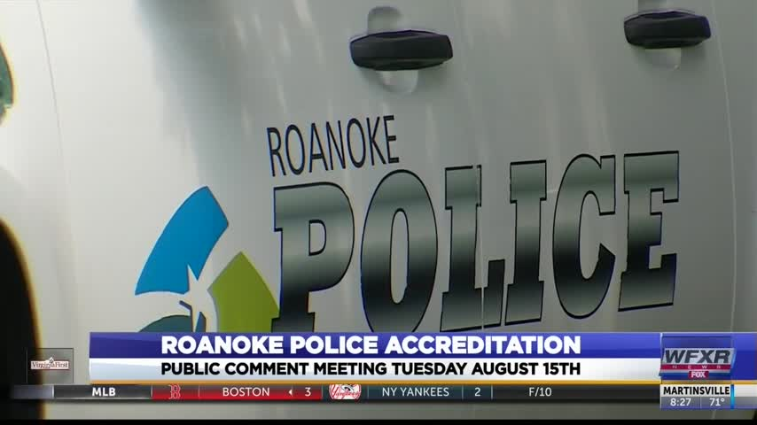 Roanoke Police Department goes through accreditation process_94123763