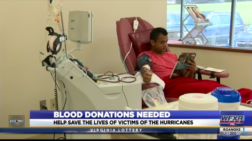 Blood donations needed to help victims of the hurricanes_51598646