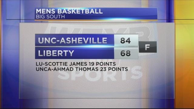 Men's Big South Basketball: UNC Asheville vs Liberty