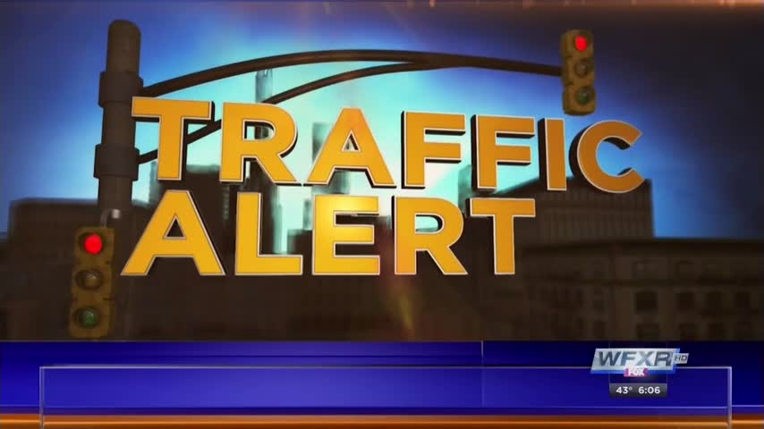 Traffic Alert Interstate 77