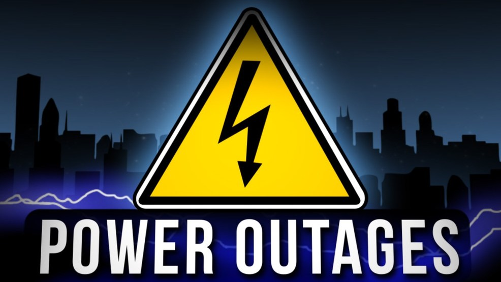 Some customers continue to be without electricity due to power outages caused by wind damage. (PHOTO: Courtesy MGN)