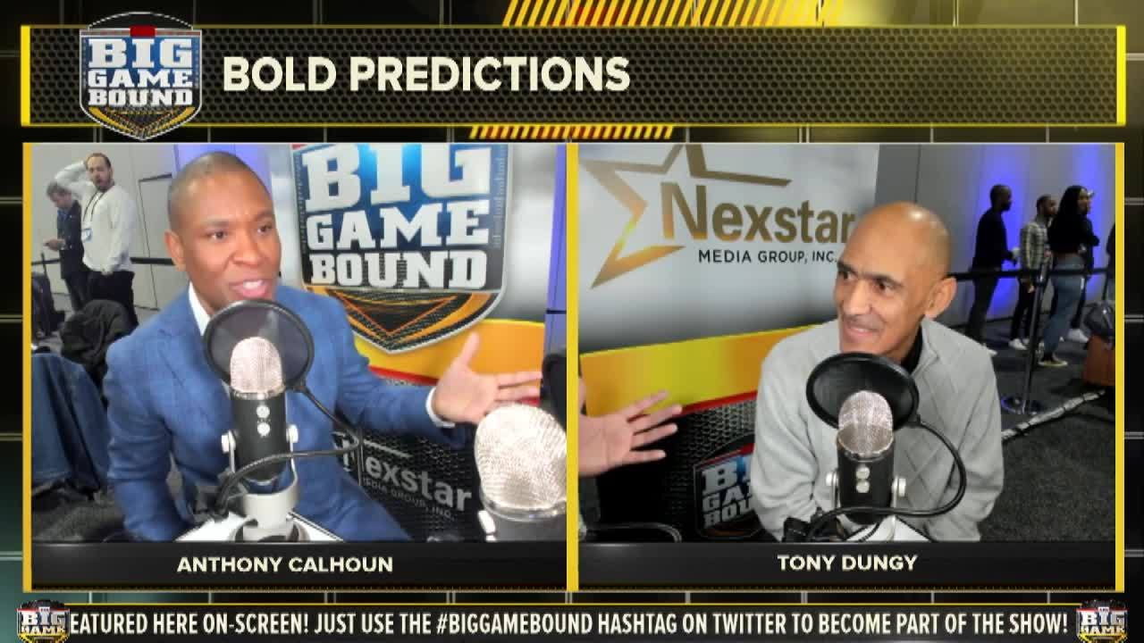 Tony Dungy makes Big Game prediction, shares key strategy for Rams