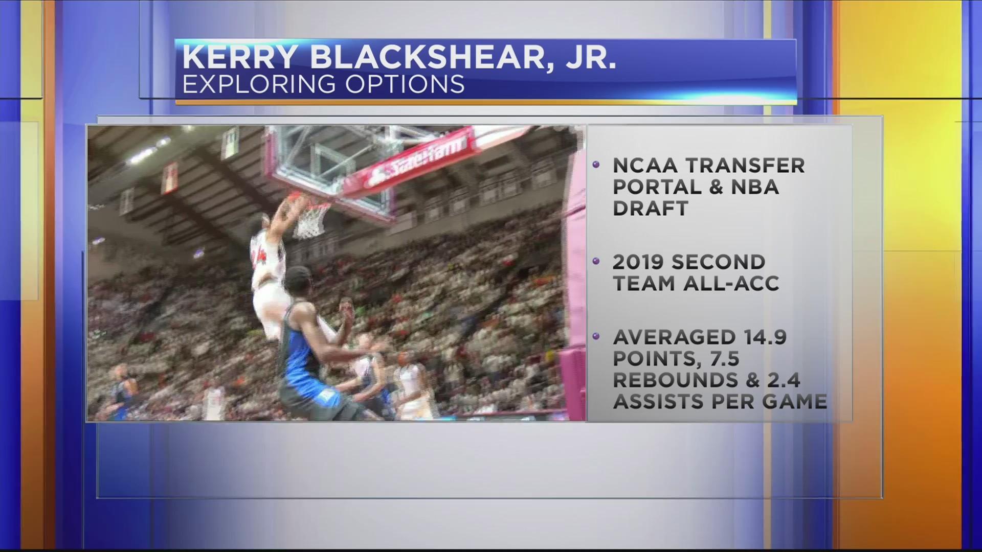 VT's Kerry Blackshear, Jr. exploring options for next season