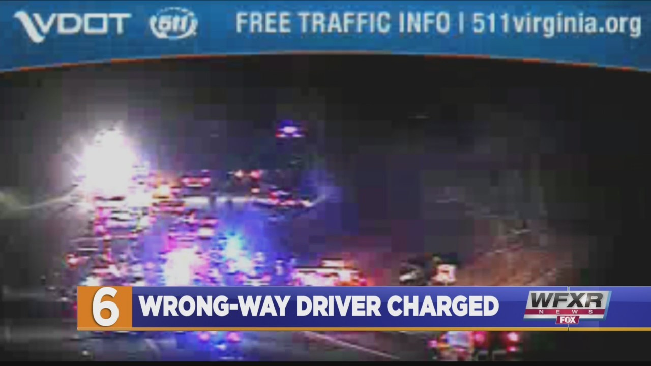 Wrong-way driver involved in crash on I-64