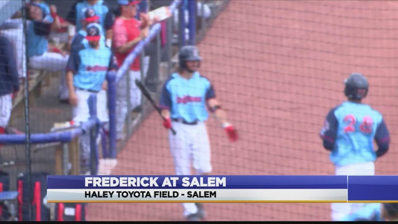 Carolina League: Frederick at Salem