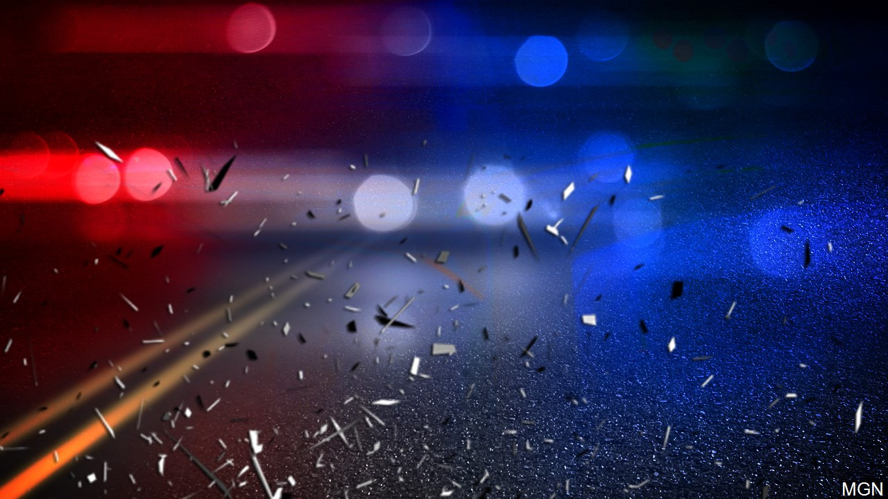 A man died in a single-vehicle crash on Wednesday early morning in Smyth County.