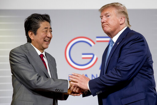 Donald Trump, Shinzo Abe
